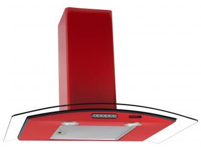 Coifa de Parede Nardelli Inox 75cm com Vidro Curvo - 3 Velocidades Slim RED 220V