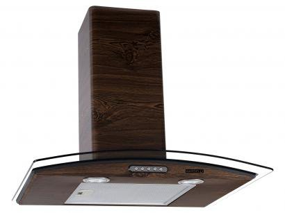Coifa de Parede Nardelli Inox 60cm com Vidro Curvo - 3 Velocidades Slim WOOD
