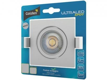 Luminária LED Spot 6W 3000K - Golden Ultra