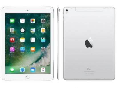 "iPad Pro Apple 32GB Prata Tela 9,7"" Retina - Proc. Chip A9X Câm. 12MP + Frontal..."