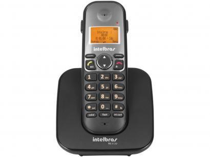 Telefone Sem Fio Intelbras TS 5120 - Identificador de Chamada Viva Voz...
