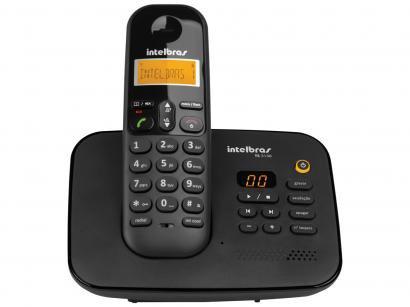Telefone Sem Fio Intelbras TS 3130 - Identificador de Chamada Sec. Eletrônica...