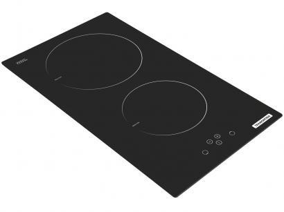 Cooktop 2 Bocas Tramontina Dominó Touch 2EI - Indução Vitrocerâmico Acendimento...