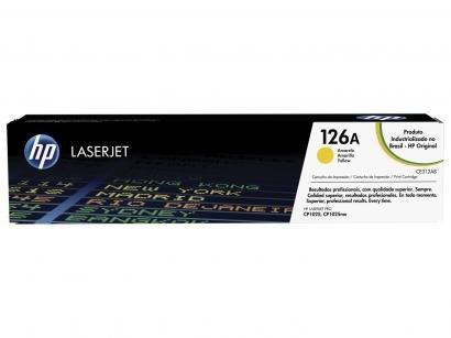 Toner HP Amarelo 126A LaserJet - Original