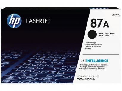 Toner HP Preto - LaserJet Enterprise 87A