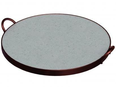 Assadeira Tramontina Redonda de Pedra Sabão - Pizza 10399/028