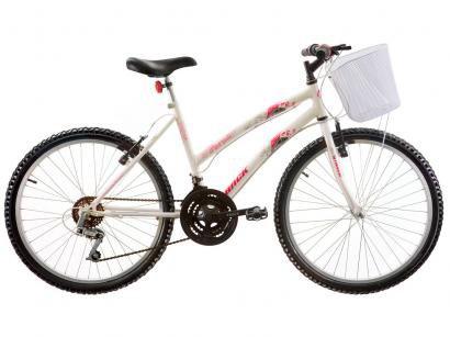 Bicicleta Track & Bikes Parati Aro 24 18 Marchas - Quadro de Aço Freio...