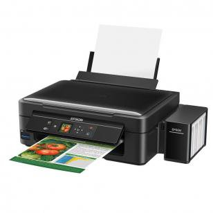 Multifuncional Epson EcoTank L455 Tanque de Tinta - Colorida Wi-Fi