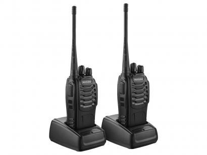Walkie Talkie Multilaser Redes e Segurança TV003 - 8 Km 16 Canais