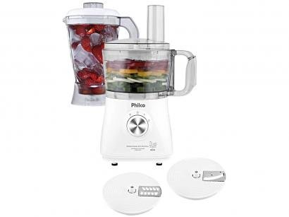 Multiprocessador de Alimentos Philco Branco - All in One Citrus 3 em 1 900W