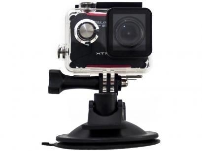 """Câmera Digital XTrax Evo Esportiva Display 1,5"""" - Panorâmica Filma Full HD com..."""