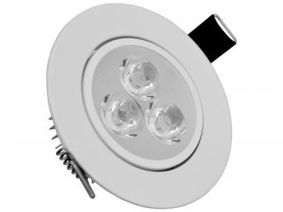 Luminária de Teto de LED de Embutir Redonda - Empalux SL30322