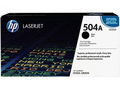 Toner HP LaserJet 504A - Preto