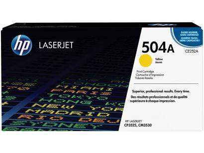 Toner HP LaserJet 504A - Amarelo
