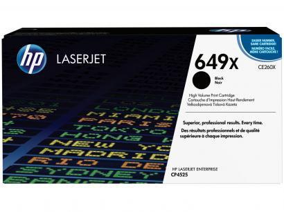 Toner HP 649X LaserJet Enterprise - Preto