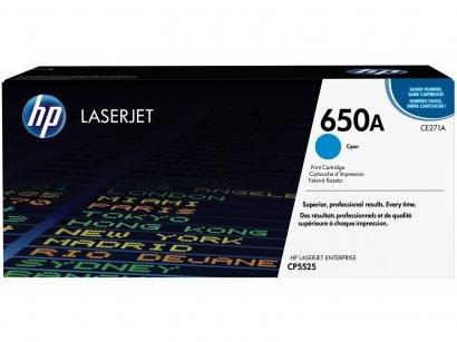 Toner Hp 650A LaserJet Enterprise - Ciano