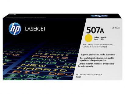 Toner HP 507A LaserJet - Amarelo