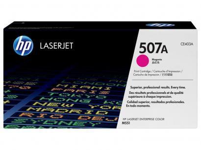 Toner HP Magenta 507A LaserJet - Original