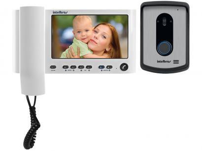 Vídeo Porteiro Intelbras IV 7010 - Abre Fechadura Chamada para Celular HS