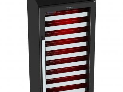 Expositor de Bebidas Vertical Venax 209L - Colorlight 200 1 Porta