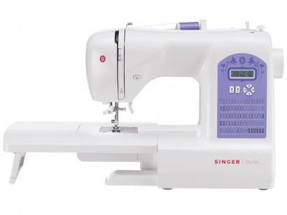 Máquina de Costura Singer Starlet 6680 Eletrônica - 74 Pontos Mesa Extensora