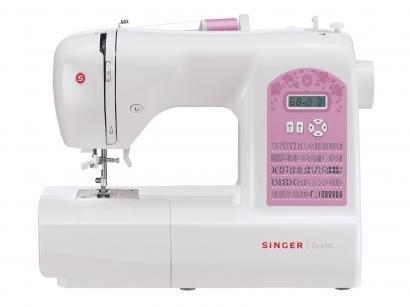 Máquina de Costura Singer Starlet 6699 Eletrônica - 91 Pontos Mesa Extensora