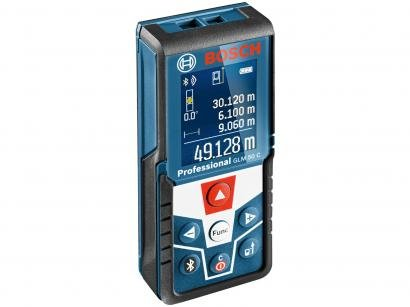 Trena Laser 50m Bosch - GLM 50 C Professional com Nível