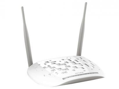 Modem Roteador Wireless Tp-link TD-W8961N - 300mbps 2 Antenas 5 Portas