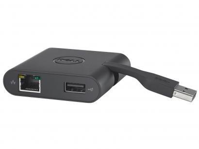 Adaptador Compacto Universal Dell - USB 3.0 VGA HDMI USB Ethernet