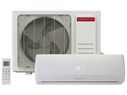 Ar-condicionado Split Agratto 9.000 BTUs Frio - Confort Fit FIT9F