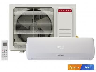 Ar-condicionado Split Agratto 18.000 BTUs - Quente/Frio Confort Fit FIT18QF
