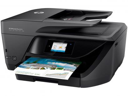 "Multifuncional HP OfficeJet Pro 6970 Jato de Tinta - Colorida LCD 2,65"" Wi-Fi..."