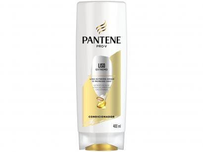 Condicionador Pantene Hair Care - Liso Extremo 400ml