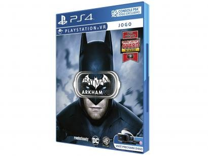 Batman Arkham VR para PS4 - Warner