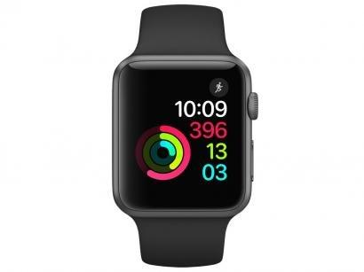 Apple Watch Series 1 42mm Alumínio 8GB Esportiva - Bluetooth Wifi Resistente à...