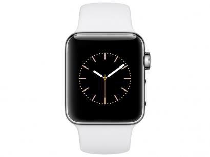 Apple Watch Series 2 38mm Aço 8GB Esportiva - Branca GPS Integrado Bluetooth...