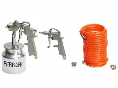 Kit Compressor de Ar 3 Peças - Ferrari
