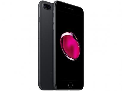 "iPhone 7 Plus Apple 32GB Preto Matte 4G Tela 5.5"" - Câm. 12MP + Selfie 7MP iOS..."