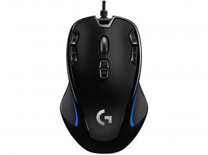 Mouse Gamer Logitech Óptico 2500DPI - G300s