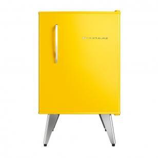 Frigobar Brastemp 76L Amarelo - Retrô