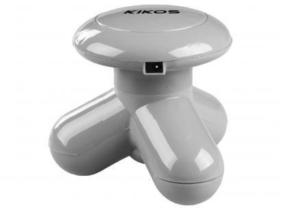 Mini Massageador Corporal Anatômico - 3 Ponto de Vibração Kikos KM10
