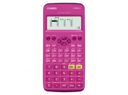 Calculadora Científica Casio 274 Funções - ClassWiz FX-82LA X Pink
