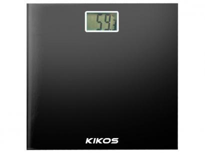 Balança Digital até 150Kg Vidro Temperado Kikos - Alpha
