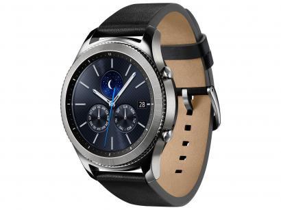 "Smartwatch Samsung Gear S3 Classic - Tela 1.3"" Touch 4GB Proc. Dual Core"
