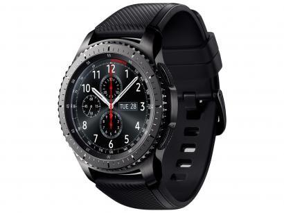 "Smartwatch Samsung Gear S3 Frontier - Tela 1.3"" Touch 4GB Proc. Dual Core"