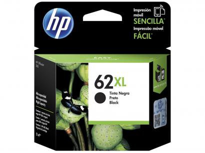 Cartucho de Tinta HP Preto 62XL - Original