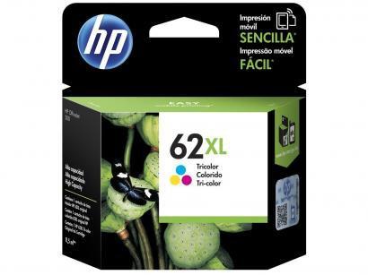 Cartucho de Tinta HP Colorido 62XL - Original