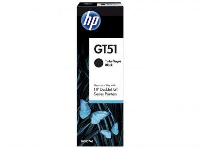 Garrafa de Tinta HP Preto GT51 Original - para HP DeskJet GT 5822