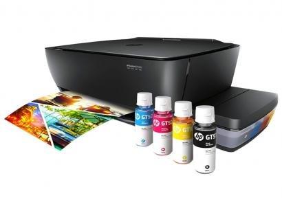 Multifuncional HP Deskjet GT 5822 Tanque de Tinta - Colorida LCD Wi-Fi USB