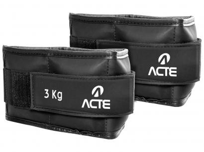 Caneleira de Peso 3kg Emborrachada Acte Sports - T158